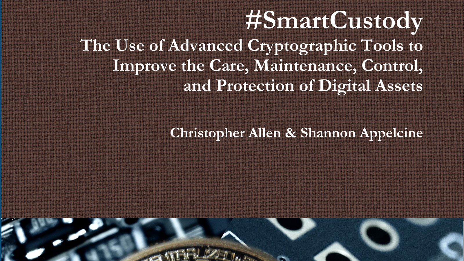 SmartCustody Book